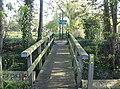 Footbridge over a stream running off the Cam - geograph.org.uk - 768423.jpg