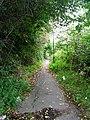 Footpath by Railway Line - Potovens Lane - geograph.org.uk - 992602.jpg