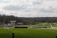 Forêt de Fontainebleau-Hippodrome de La Solle-Paddock et tribunes-20170322.jpg