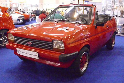 Ford Fiesta Cabriolet-Umbau von Bieber 1982 (Umbau 1990) Front