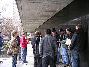 English: Foreclosure auction 2007