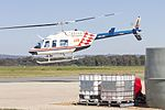 Forest Air Helicopters (VH-JSU) Bell 206L-3 LongRanger III departing Wagga Wagga Airport.jpg