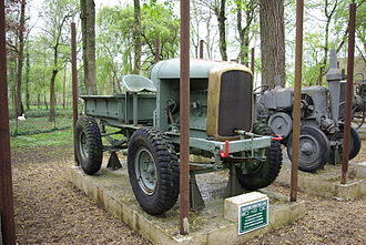 Latil - A forest tractor made by Latil in 1937.