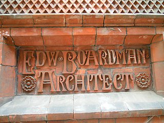 Edward Boardman English architect