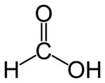 Estrutura do ácido propiônico