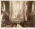 Fotografi av Westminster Abbey. London, England - Hallwylska museet - 105923.tif