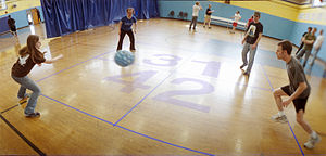 Four square - Image: Four square court