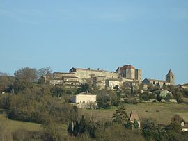 A general view of the village of Gramont