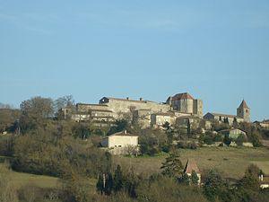 Gramont, Tarn-et-Garonne - A general view of the village of Gramont