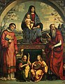 Francesco Francia - Madonna and Child with Sts Lawrence and Jerome - WGA08175.jpg