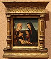 Francesco morone (attr.), madonna e san giuseppe in adorazione del bambino, 1490-1500 ca. (verona).JPG