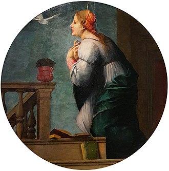 Franciabigio - Image: Franciabigio Mary 02