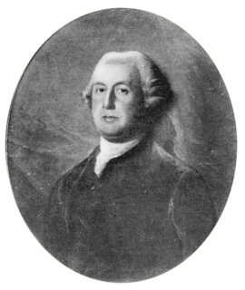 Sir Francis Bernard, 1st Baronet British colonial administrator
