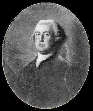 Sir Francis Bernard, 1st Baronet - Image: Francis Bernard
