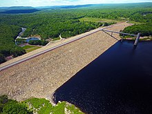 Francis E. Walter Dam And Reservoir Side View.jpg