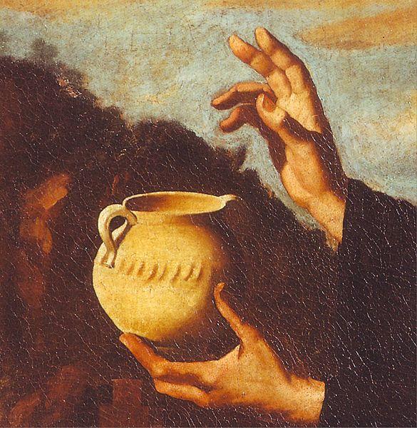 File:Francisco de Zurbarán San Benito (excerpt).JPG