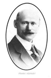 Frank Hornby English toy inventor, businessman and politician