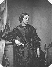 Clara Schumann 1857, Fotografie von Franz Hanfstaengl (Quelle: Wikimedia)