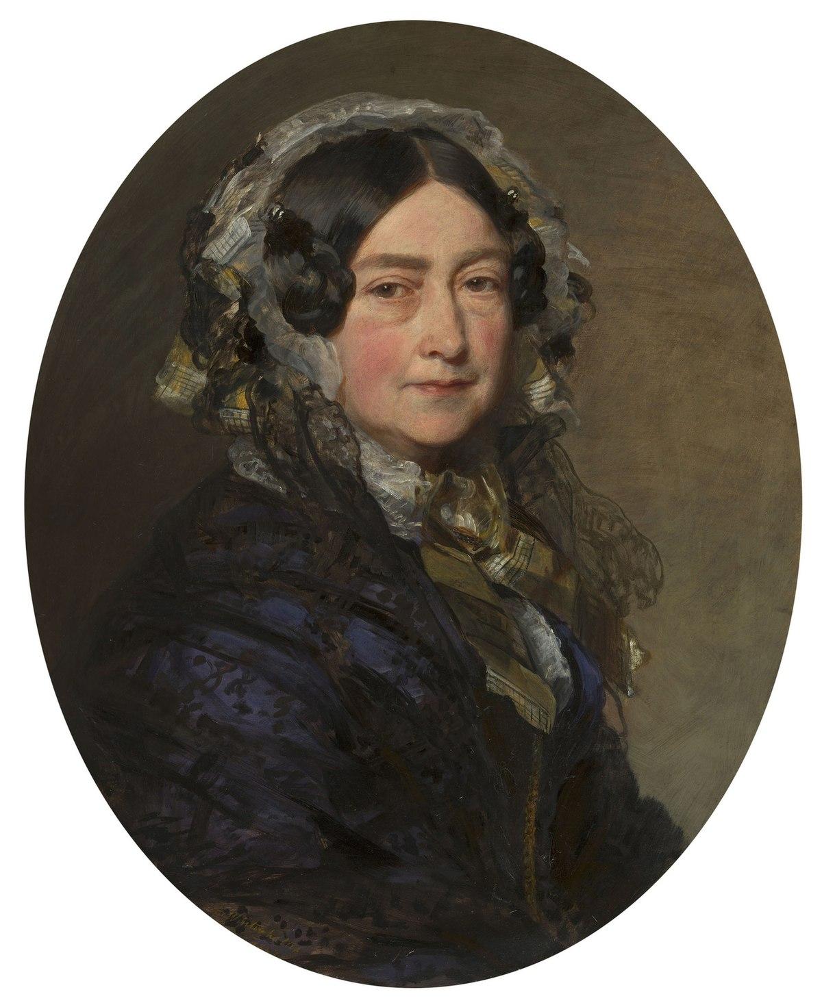 Franz Xaver Winterhalter (1805-73) - Victoria, Duchess of Kent (1786-1861) - RCIN 406883 - Royal Collection.jpg
