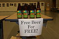 Free Beer from the iSummit 2008. And free as in beer.jpg
