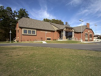 Fremont, Indiana - A photo of the Fremont Public Library