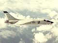 French F-8E(FN) Crusader in flight over the Med 1976.jpeg