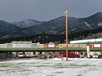 Frenchtown, Montana - Grocery and Post Office
