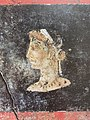 Fresco of a woman in profile, possibly Cleopatra VII of Ptolemaic Egypt, from the House of the Orchard at Pompeii.jpg