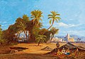 Friedrich Perlberg - Palm Woodland near Cairo.jpg