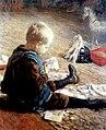 Fritz von Uhde - Spielender Knabe (1890).jpg