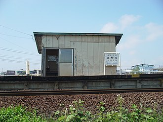 Fukōda Station - Fukōda Station in May 2007