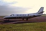 G-DJHH Cessna Citation II CVT 13-11-81 (24833626727).jpg