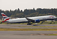 G-STBC - B77W - British Airways