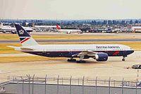 G-VIIC - B772 - British Airways