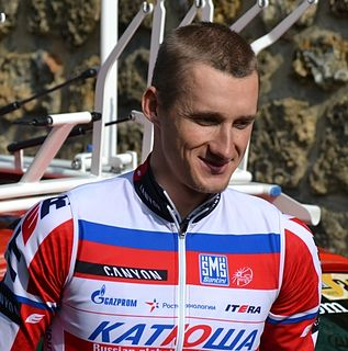 Gatis Smukulis Latvian road bicycle racer