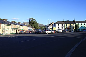 Galbally, County Limerick - View looking south from the village square