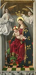 The Virgin and Child with a Parrot