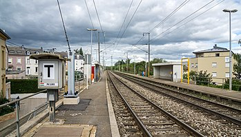Niederkorn railway station