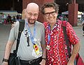 Gareth Branwyn and Mark Frauenfelder at Maker Faire Austin 2007.jpg