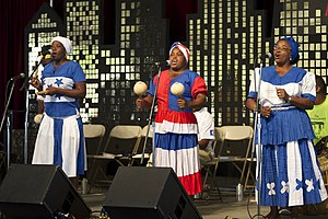 Garifuna - Umalali featuring the Garifuna Collective on the Peace Corps World Stage at Smithsonian Folklife Festival 2011