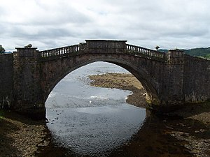 1748 in architecture - Image: Garron Bridge, River Shira geograph.org.uk 32901