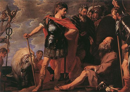 Gaspar de Crayer - Alexander and Diogenes - WGA5739