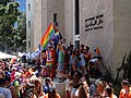 Gay Pride in Haifa 2014 - Haifa City hall (19).JPG