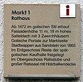 Gedenktafel Markt 1 (Meißen) Rathaus Meißen.jpg