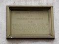 Gedenktafel am Wohnhaus von Karl Bernhard Stark, Augustinergasse 7, östliche Platzwand des Universitätsplatzes Heidelberg .JPG