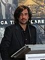 Gelete Nieto en el homenaje a su padre en Madrid el 16 de septiembre de 2017.jpg