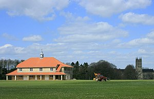 Downside School - The cricket pavilion