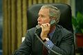 George W. Bush calls Haley Barbour.jpg