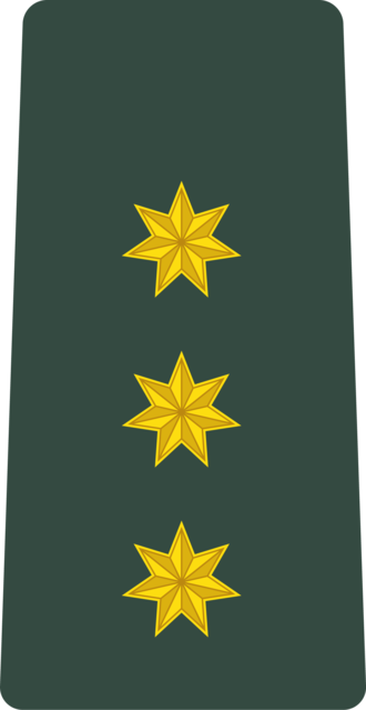 Lieutenant - Image: Georgia Army OF 1c
