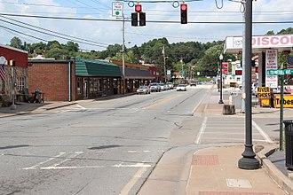 McCaysville, Georgia - Downtown McCaysville